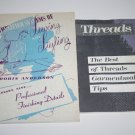 Two Garment Making Booklets Tips & Hints for Professional Tailoring Sewing