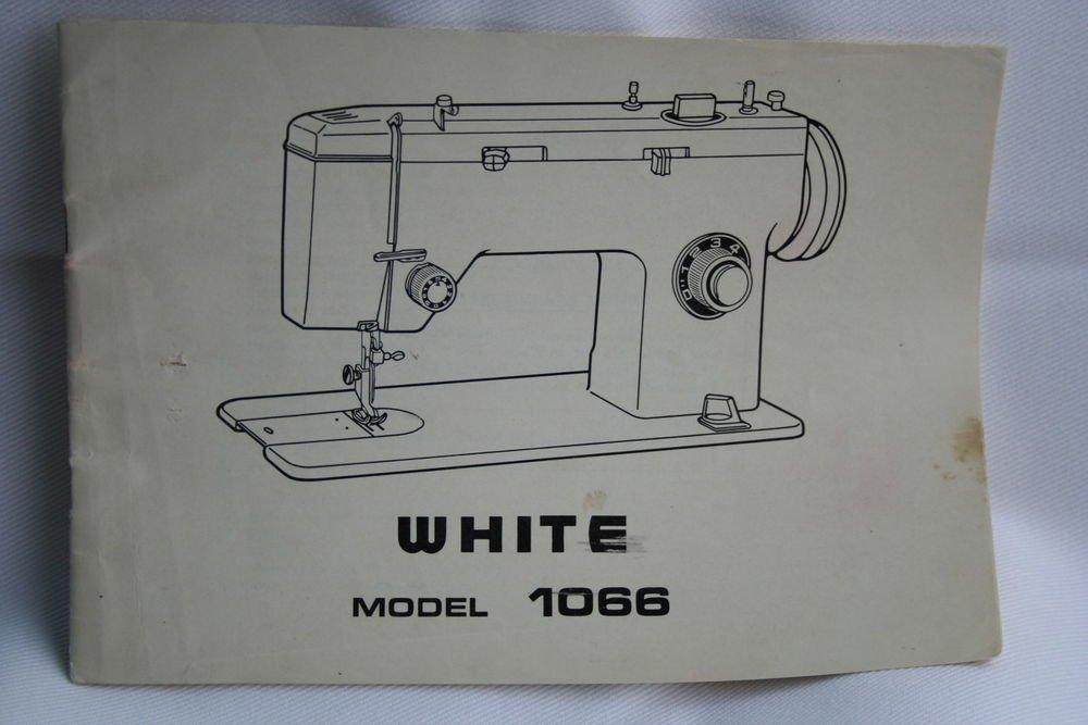 WHITE 40 ZigZag Sewing Machine Manual Original Custom White Sewing Machine Manual