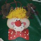 Vintage Dimensions Reindeer Christmas Ornament Needlepoint Kit NIP Christmas