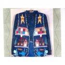 Cabin View Vest Full Size Women's Pattern Size S M L XL