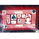 Yuletide Sampler Wall Quilt or Placemat Pattern Christmas Holiday