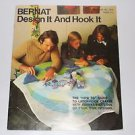 Vintage Bernat Rugmaking Booklet Design it and Hook it - How to Guide Latch Hook
