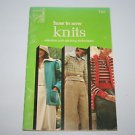 Singer - How to Sew Knits - Selection and Stitching Techniques Booklet