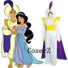 Aladdin Lamp Costume Prince Aladdin costume Cosplay costume