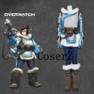 Overwatch Mei Costume Cosplay Costume (Coat,Pants, Belt, Bags)