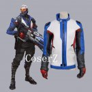 Game Overwatch Soldier 76 Costume Soldier 76 Jacket