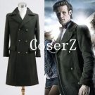 Who is Doctor Costume Dr. Dark Green Coat Cosplay Costume
