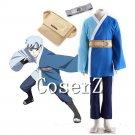 Naruto Cosplay -BORUTO- Mitsuki Cosplay Costume Blue Japanese Kimono Cosplay