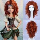 Princess Meet Zarina Wig Pirate Fairy Cosplay Wig Halloween wig