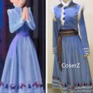 Olaf's Frozen Adventure Anna Dress, Olaf's Frozen Adventure Anna Costume Cosplay