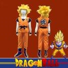 Anime Dragon Ball Z Kids Son Goku Master Roshi Logo Cosplay Costume