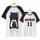 Kuroko's Basket Ball Seirin 11 Kuroko Tetsuya T-shirt Cosplay Costume