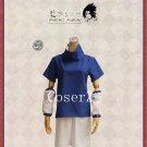 Anime Naruto Uchiha Sasuke Black/Blue Uniform Cosplay Costume