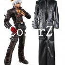 King of Fighters 99 K DASH Black Game Cosplay Costume