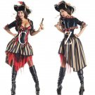 Pirate of the Caribbean Women Fancy Dress Cosplay Costume