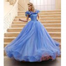 Movies Cinderella Dress for Adults/Girls, Cinderella Costumes for Women Adults