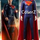 Custom Justice League Superman Costume Superman returns Clark Kent Cosplay Costume outfit