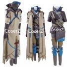 Overwatch OW Ana Captain Amari Cosplay Costume for men Halloween Costume full set