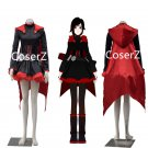 Ruby Rose  Red Trailer dress Cosplay Costume Ruby Costume Halloween costume