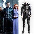 Blackagar Boltagon Cosplay costume inhumans Black Bolt Costume full Outfit