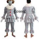 Halloween Christmas Custom Stephen King's It Pennywise Cosplay Costume for adults kids