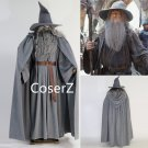 Custom The Lord of the Ring Gandalf Cosplay Costume, best Gandalf Costume Halloween costume adult