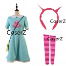 Anime Star vs The Forces of Evil Cosplay Costume,Princess Star Butterfly Costume for girls with Bag
