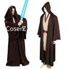 custom Star Wars Jedi/Sith Knight Cosplay Hooded Robe Cloak for Adult/Kids Halloween costume