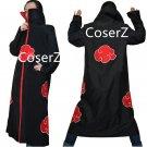 Naruto Cosplay Costume Naruto Akatsuki Uchiha Itachi costume Cloak full set