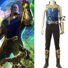 Avengers Infinity War Villain Thanos Cosplay Costume full outfit for men Halloween costume