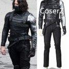 Captain America The Winter Soldier Cosplay Costume for men full set