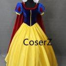 Princess Snow White Dress Cosplay Costume Fairytale Dress for girls Halloween costume