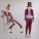 The Princess and the Frog Dr. Facilier cosplay Costume, Dr Facilier Costume male Halloween costume