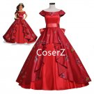 Elena Cosplay Costume Elena of Avalor Elena Dress, Elena red dress Costume for women