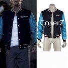 Chato Santana El Diablo cosplay costume Suicide Squad Varsity Jacket Cosplay Costume for male