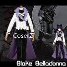 Blake Belladonna Costume White Season 4 Black Belladonna Cosplay Costume for women Halloween costume