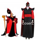 custom made Aladdin Jafar Villain Cosplay Costume Full Outfit halloween costume