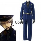 Anime APH Axis Powers Hetalia Prussia Cosplay Costume full outfit for men