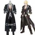 Tales of Berseria Eizen cosplay Costume Halloween party Costume with gloves for men