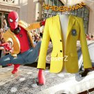 Spider-Man Homecoming cosplay costume Peter Parker Costume Yellow jacket Halloween costume