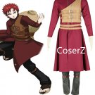 Naruto Cosplay Costume Shippuden Gaara costume full set