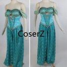 Custom made Princess Jasmine Cosplay Costume Jasmine costume in Mint Halloween costume
