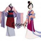 custom Hua Mulan Dress cosplay Costume, Mulan Costumes for Adults