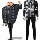 Movie Despicable Me 3 Cosplay Costume Gru costume