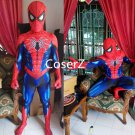Spiderman Cosplay Costume Zentai Spider Man Bodysuit Jumpsuits costume for kids adults