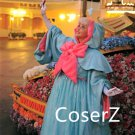 Custom-made Cartoon Cinderella Fairy Godmother Dress Cosplay Costume