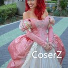Pink Ariel Dress Ariel Costume, Ariel Cosplay Costume for Adults