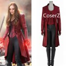 Wanda Maximoff Cosplay Costume,Captain America Civil War Scarlet Witch Costume For Men