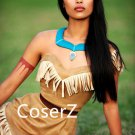 Princess Pocahontas Ccosplay Costume,Pocahontas Costume Halloween Costume