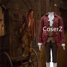 2017 Movie Beauty and the Baest Cosplay Costume Gaston Costume Party Halloween Costume